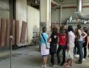 Studenti della scuola media in visita alla falegnameria Agnolon: foto 1