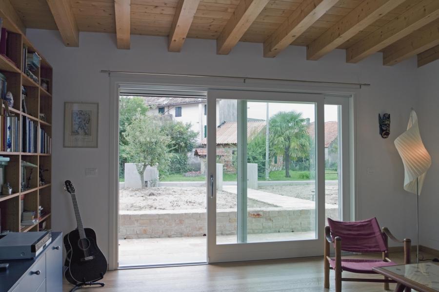 Falegnameria artigiana agnolon finestre e porte in - Finestre scorrevoli in vetro ...